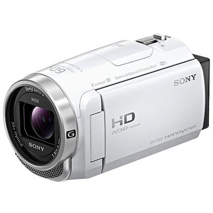 【長期保証付】ソニー HDR-CX680-W(ホワイト) デジタルHDビデオカメラレコーダー 64GB