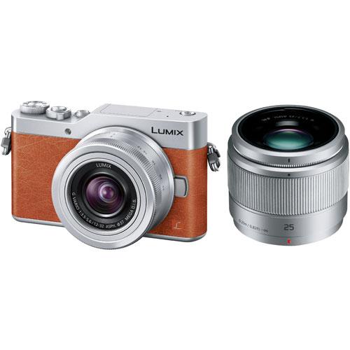 【長期保証付】パナソニック LUMIX ミラーレス一眼レフカメラ ダブルレンズキット(オレンジ) DC-GF9W-D 4Kフォト