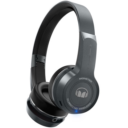【長期保証付】MONSTER MH CLY ON GMET BT(ガンメタル) CLARITY HD Wireless ON-Ear Headphones