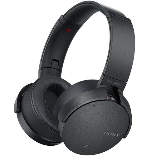 ソニー SONY Bluetooth対応 ワイヤレスノイズキャンセリングステレオヘッドセット ブラック MDR-XB950N1-B