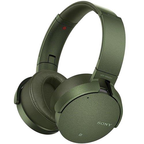 ソニー MDR-XB950N1-G(グリーン) ワイヤレスノイズキャンセリングステレオヘッドセット