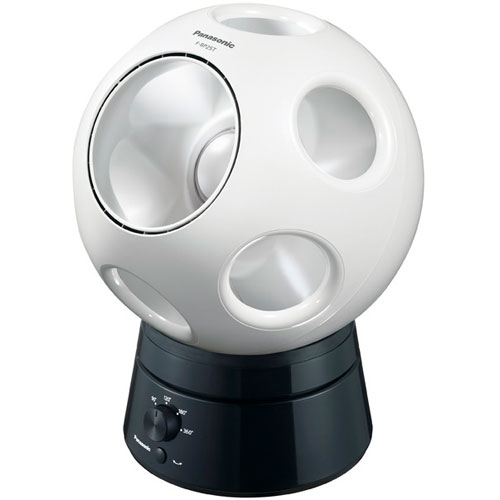 パナソニック F-BP25T-W(パールホワイト) 創風機 Q(キュー) DCモーター リモコン無 首振りスタンドセット FBP25TWひんやり 熱対策 アイス 冷感 保冷 冷却 熱中症 涼しい クール 冷気