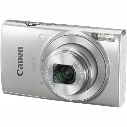Canon コンパクトデジタルカメラ IXY 210 シルバー 手ブレ補正 Wi-Fi対応