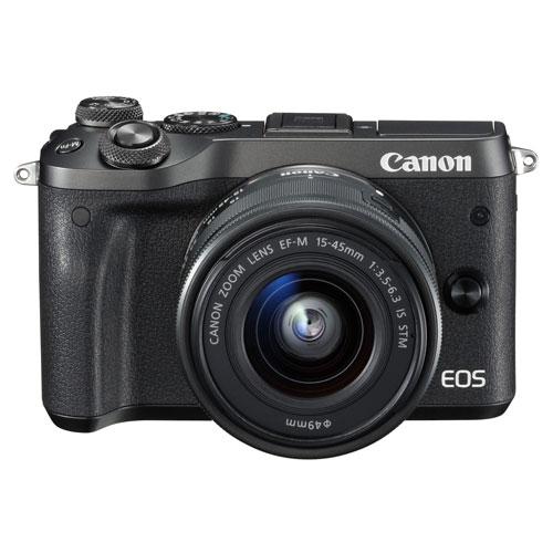 【送料無料】 (シルバー/ミラーレス一眼カメラ) 【EF-M15-45 IS STM レンズキット】 キヤノン [EOSM6SL1545ISSTMLK] CANON EOS M6