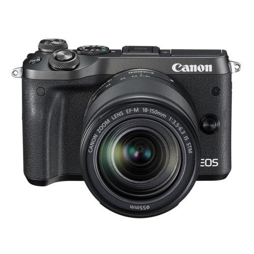 【長期保証付】CANON EOS M6 EF-M18-150 IS STM レンズキット(ブラック)