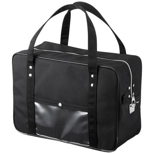 サンワサプライ BAG-MAIL1BK(ブラック) メールボストンバッグ Mサイズ