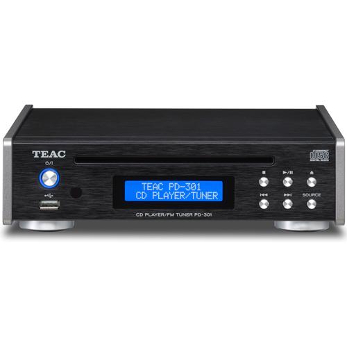 【長期保証付】TEAC PD-301-B(ブラック) ワイドFMチューナー搭載CDプレーヤー