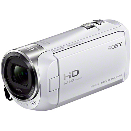 【長期保証付】ソニー(SONY) Handycam デジタルHDビデオカメラレコーダー 32GB HDR-CX470-W(ホワイト)