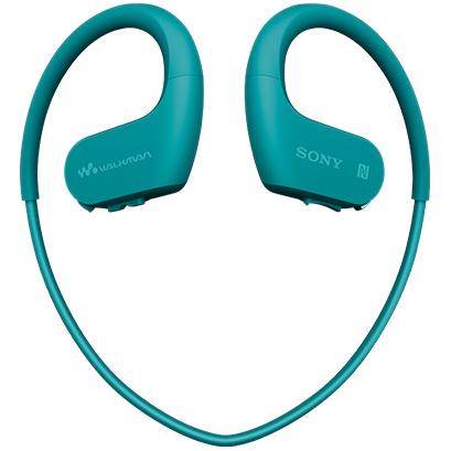 【長期保証付】ソニー SONY WALKMAN ウォークマン Wシリーズ 4GB NW-WS623 L ブルー ヘッドホン一体型/JIS防水保護等級IPX5/8/防汚コーティング採用/海水(塩水)対応/メモリー内蔵Bluetoothヘッドホン