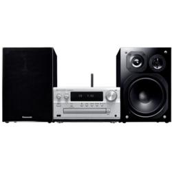 【長期保証付】パナソニック SC-PMX150-S(シルバー) iPhone・iPod対応コンポ Bluetooth/ワイドFM対応