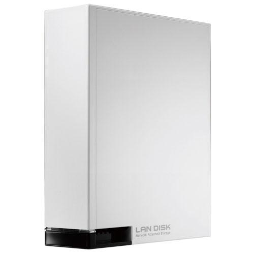 IODATA HDL-T1WH(ホワイト) HDL-T ネットワーク接続ハードディスク 1TB