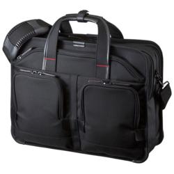 サンワサプライ BAG-EXE8(ブラック) 2WAYパソコンバッグ