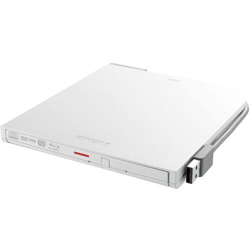 バッファロー BRXL-PT6U2V-WHD(ホワイト) USB2.0接続 ポータブルブルーレイドライブ