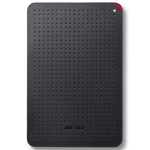 バッファロー SSD-PL480U3-BK ポータブルSSD 480GB USB3.1(Gen1) /3.0/2.0接続 耐衝撃