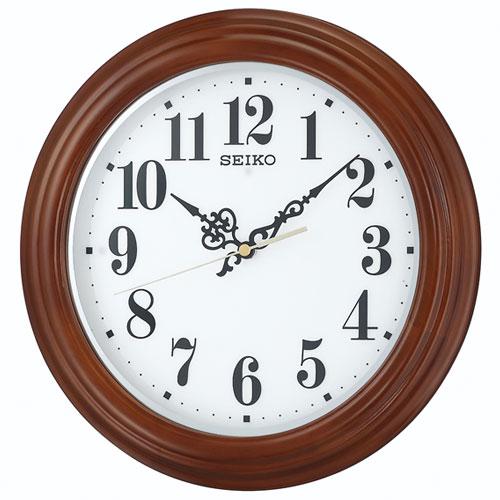 セイコー KX228B(茶木地塗装) 掛時計