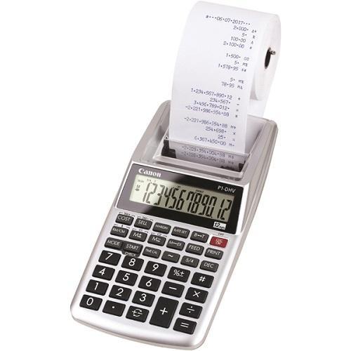 【在庫あり】14時までの注文で当日出荷可能! CANON P1-DHV-3 Pシリーズ 算式プリンタータイプ電卓 12桁