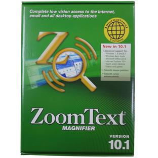 アメディア ZoomText 10.1 Magnifier Win