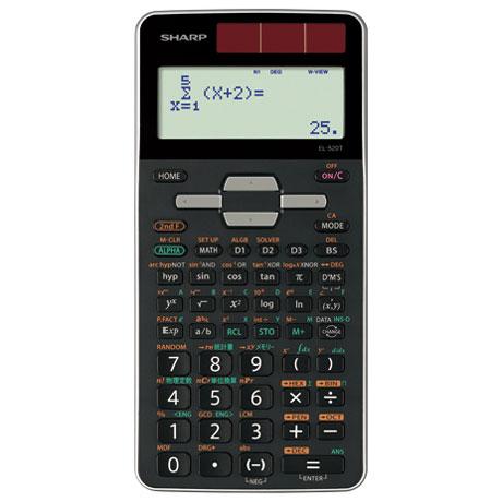 【在庫あり】14時までの注文で当日出荷可能! シャープ EL-520T-X 関数電卓 10桁