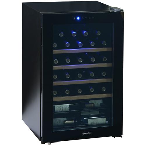 【設置+リサイクル】デバイスタイル CD-30W コンプレッサー方式ワインセラー 30本収納