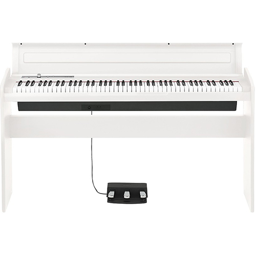 【設置】KORG LP-180-WH(ホワイト) 電子ピアノ 88鍵盤
