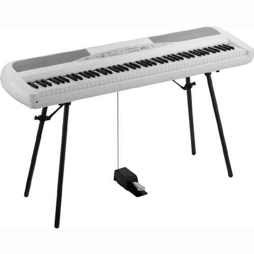 【設置】KORG SP-280-WH(ホワイト) 電子ピアノ 88鍵盤