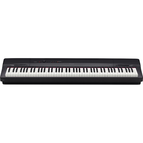【設置+長期保証】CASIO PX-160-BK(ソリッドブラック調) Privia(プリヴィア) 電子ピアノ 88鍵盤