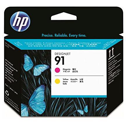 HP C9461A 純正 HP 91プリントヘッド マゼンタ/イエロー 2色パック