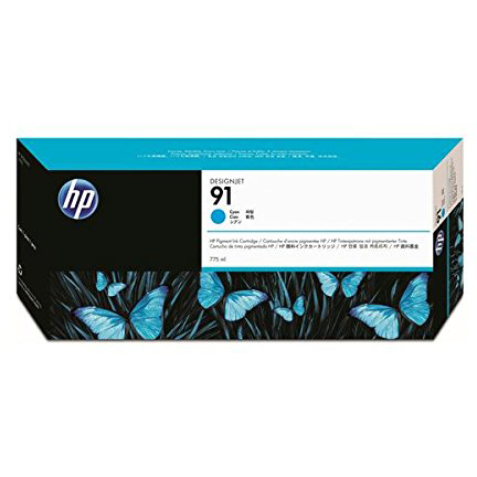 HP C9467A 純正 HP91インクカートリッジ シアン 775ml