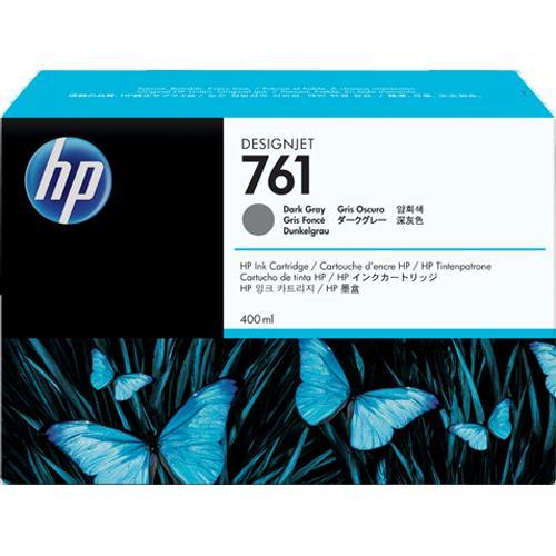 HP CM996A 純正 HP761 インクカートリッジ ダークグレー 400ml