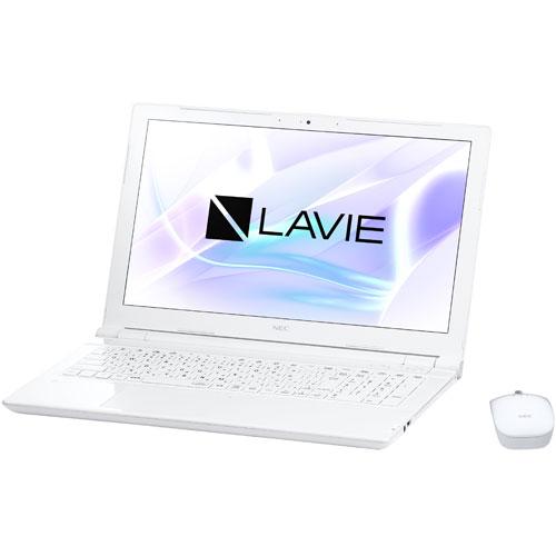 【長期保証付】NEC PC-NS150HAW(エクストラホワイト) LAVIE Note Standard 15.6型液晶