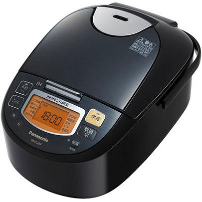 パナソニック SR-FC107-K(ステンレスブラック) IHジャー炊飯器 5.5合
