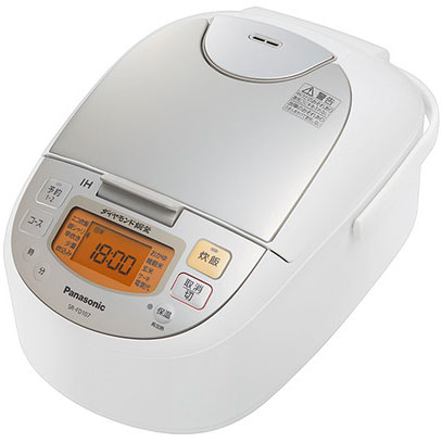 【長期保証付】パナソニック SR-FD107-W(シャンパンホワイト) IHジャー炊飯器 5.5合