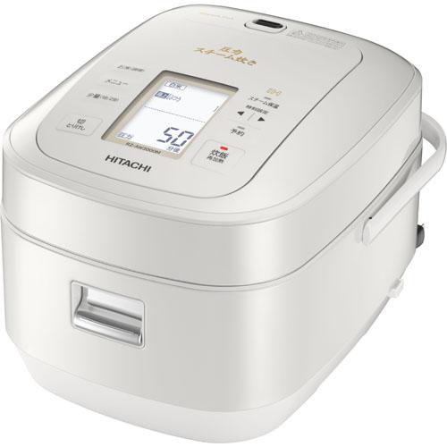 日立 HITACHI RZ-AW3000M-W(パールホワイト) ふっくら御膳 圧力スチームIH炊飯器 5.5合 RZAW3000MW 人気 炊飯ジャー ジャー炊飯器 二人暮らし おかゆ 簡単操作 もちもち プレゼント お祝い