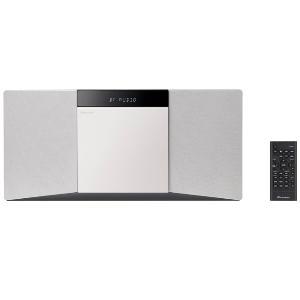 【長期保証付】パイオニア X-SMC02(W) スタイリッシュCDミニコンポ(ホワイト)