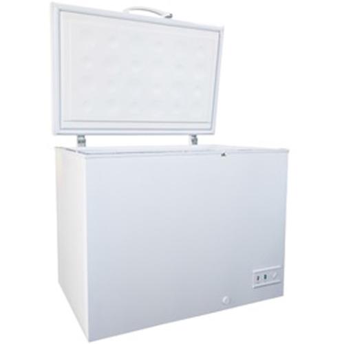 新生活 標準設置料金込 送料無料 三ツ星貿易 SKM283 ホワイト チェストタイプ 人気上昇中 直冷式 代引 1ドア冷凍庫 283L 上開き 分割 リボ ボーナス払い不可