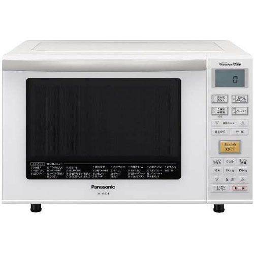パナソニック Panasonic コンパクト スチームオーブンレンジ エレック 23L NE-MS234 ホワイト
