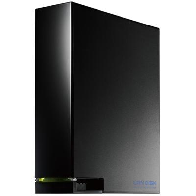 IODATA HDL-AA4(ブラック) デュアルコアCPU搭載 ネットワーク接続ハードディスク(NAS) 4TB
