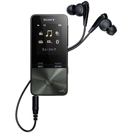 ソニー SONY ウォークマン Sシリーズ 16GB ブラック NW-S315-B 音楽再生約52時間/約53g/デジタルノイズキャンセリング機能/Bluetooth