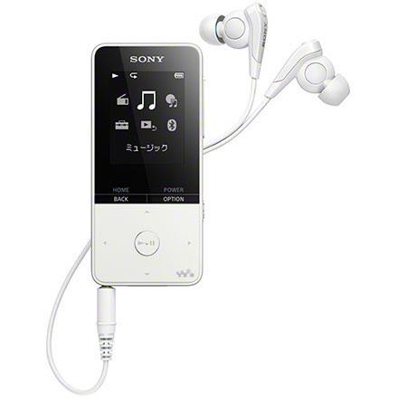ソニー NW-S315-W(ホワイト) ウォークマン Sシリーズ 16GB