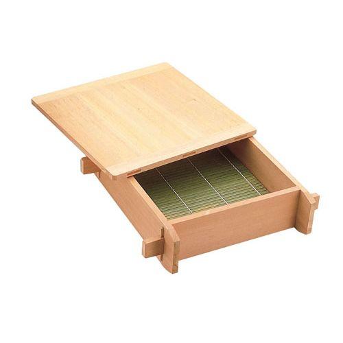 遠藤商事 木製 角セイロ 関東型(サワラ材) 42cm 4905001335938