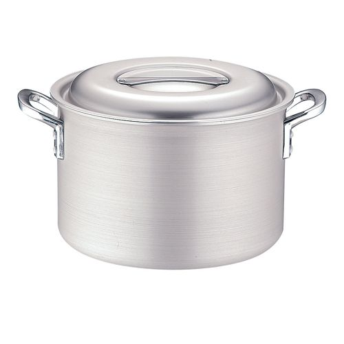 TKGコーポレーション TKG IHアルミ 半寸胴鍋(目盛付) 27cm 4905001117299