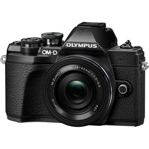 オリンパス OLYMPUS ミラーレス一眼カメラ OM-D E-M10 MarkIII EZダブルズームキット ブラック 約1605万画素/Wi-Fi対応/高速AFシステム