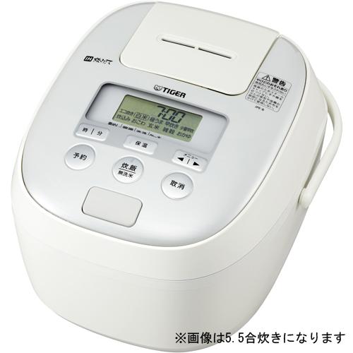 【長期保証付】タイガー魔法瓶 JPE-B180-W(ホワイト) 炊きたて IH炊飯ジャー 1.0升