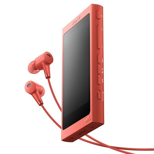 ソニー NW-A45HN-R(トワイライトレッド) ソニー ウォークマンAシリーズ 16GB