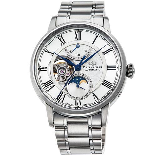 【長期保証付】オリエント RK-AM0005S Orient Star メカニカルムーンフェイズ 機械式時計 (メンズ)