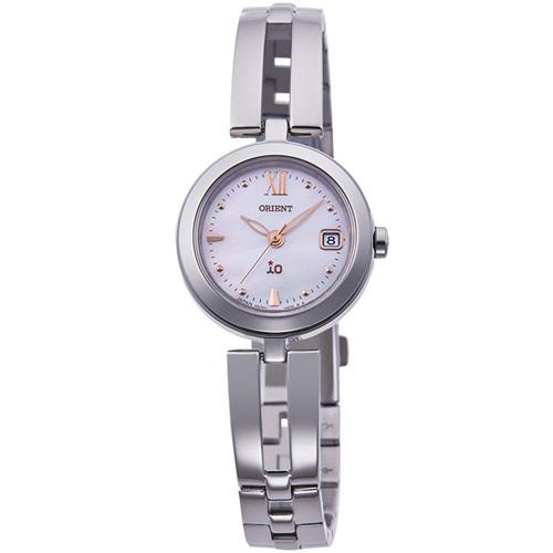 【長期保証付】オリエント RN-WG0003S(ピンク 白蝶貝) イオ ソーラー 腕時計(レディース)