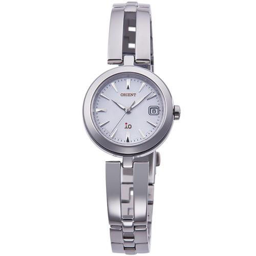 【長期保証付】オリエント RN-WG0001S(ホワイト 白蝶貝) イオ ソーラー 腕時計(レディース)