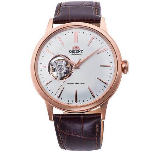 【長期保証付】オリエント RN-AG0004S クラシック セミスケルトン 機械式時計 (メンズ)