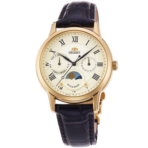 【長期保証付】オリエント RN-KA0002S(シャンパンゴールド) クラシック クオーツ 腕時計(レディース)