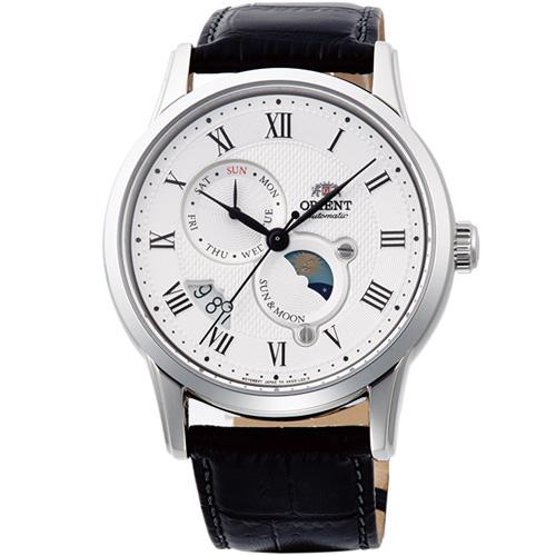 【長期保証付】オリエント RN-AK0005S(ホワイト) クラシック 自動巻き(手巻き付) 腕時計(メンズ)